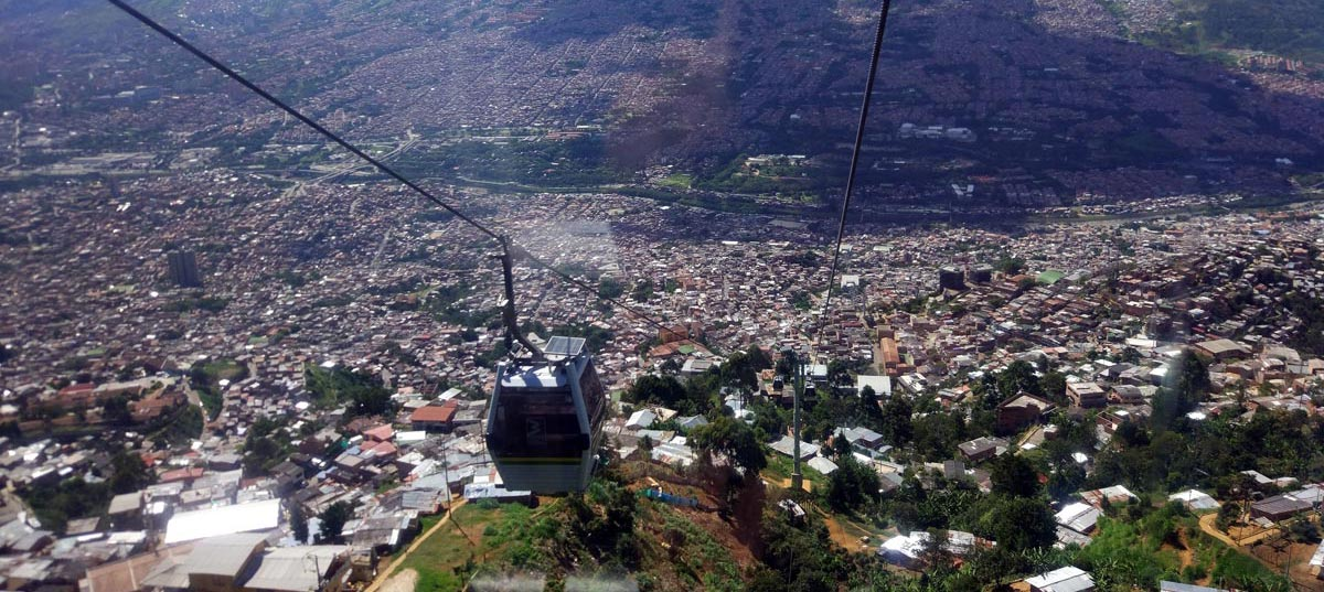 Metrocable nord a Medellin